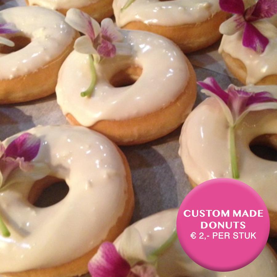 custom made donuts