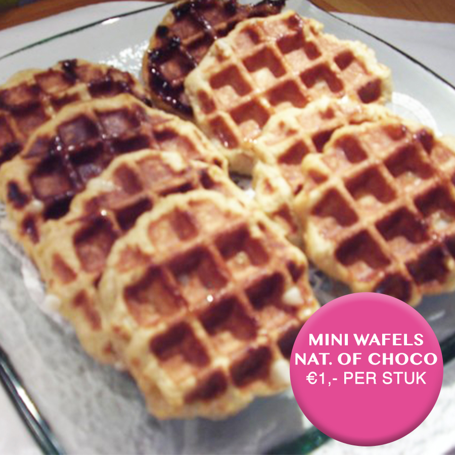 mini wafels